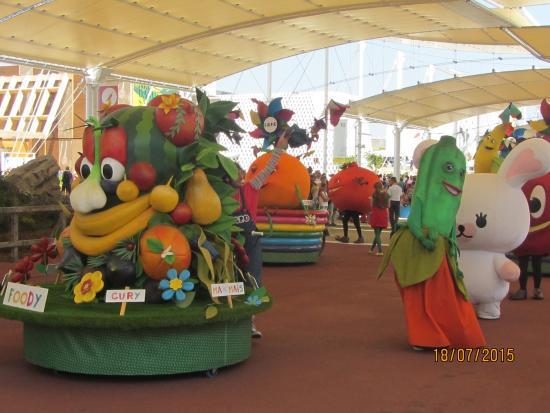 La frutta all'Expo