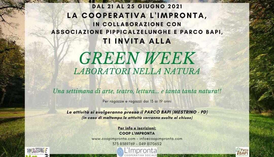 Green week – laboratori nella natura