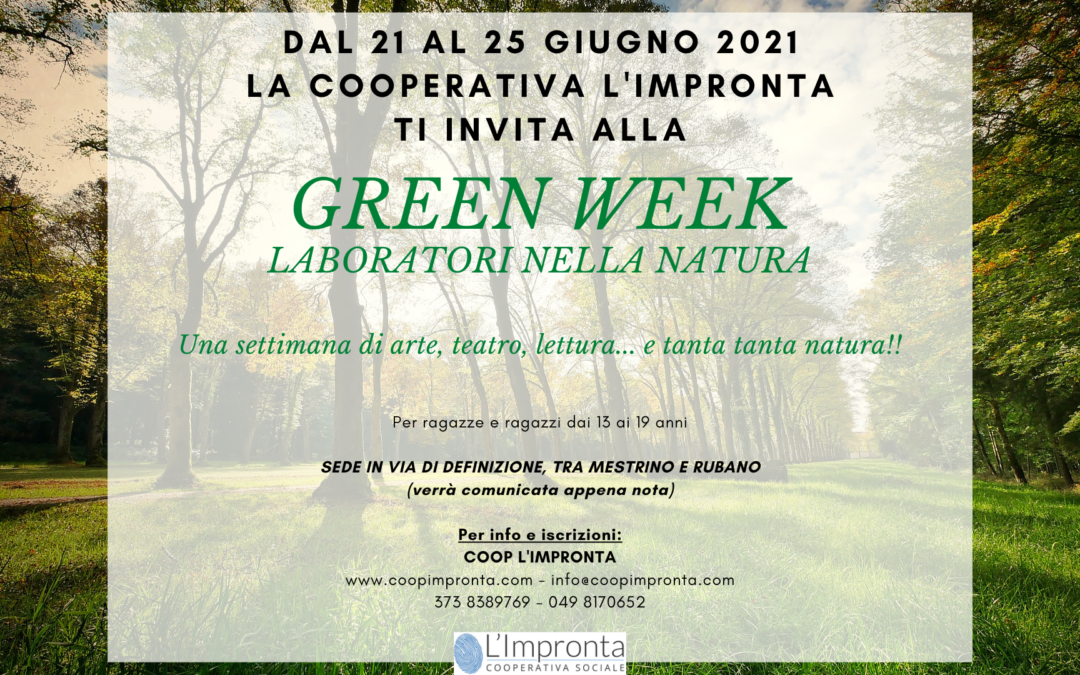 Green week – laboratori nella natura