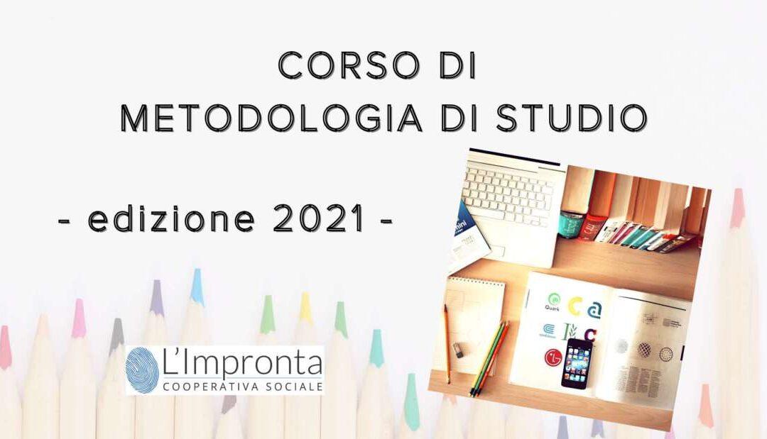 Corso di metodologia di studio – edizione 2021
